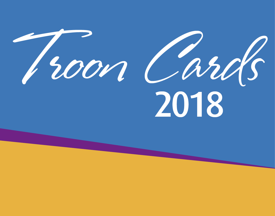 Troon Cards 2018 graphic